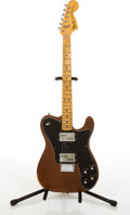 Musical Instruments:Electric Guitars, 1974 Fender American Telecaster Deluxe Mocha Electric Guitar#563926....