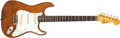 Musical Instruments:Electric Guitars, 1962 Fender Stratocaster Dark Stain Electric Guitar #84540....