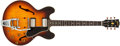 Musical Instruments:Electric Guitars, 1959 Gibson ES-335 Sunburst Archtop Electric Guitar #A31280....