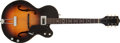 Musical Instruments:Electric Guitars, 1957 Gretsch 6186 Sunburst Semi-Hollow Electric Guitar, #24396. ...