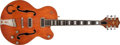 Musical Instruments:Electric Guitars, 1956 Gretsch 6120 Orange Semi-Hollow Electric Guitar, #18935. ...