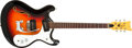 Musical Instruments:Electric Guitars, 1968 Mosrite Combo Sunburst Thin Semi-Hollow Body Electric Guitar#H0899....