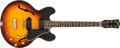 Musical Instruments:Electric Guitars, 1960 Gibson ES-30 Sunburst Archtop Semi-Hollow Body Electric Guitar#R60828....