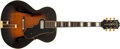 Musical Instruments:Electric Guitars, 1945 Epiphone Broadway Sunburst Archtop Electric Guitar #52874....