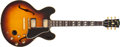 Musical Instruments:Electric Guitars, 1959 Gibson ES345 Sunburst Electric Guitar #A31422....