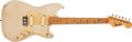 Musical Instruments:Electric Guitars, 1957 Fender Duo-Sonic Desert Sand Electric Guitar # -20586....