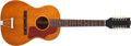 Musical Instruments:Acoustic Guitars, 1968 Gibson B-25-12 Natural Acoustic Guitar #980897....