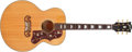 Musical Instruments:Acoustic Guitars, 2005 Gibson J-150 Natural Acoustic Guitar, #75043....
