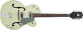 Musical Instruments:Electric Guitars, 1964 Gretsch Anniversary Green Semi-Hollow Body Electric,#72398....