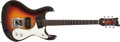 Musical Instruments:Electric Guitars, Late 1963 or Early 1964 Mosrite Ventures Sunburst Electric Guitar,#N/A....