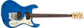 Musical Instruments:Electric Guitars, 1966 Mosrite Ventures Blue Electric Guitar, #4519....