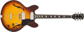 Musical Instruments:Electric Guitars, 1968 Gibson ES-330 Sunburst Semi-Hollow Body Electric Guitar,#906331....