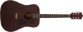 Musical Instruments:Acoustic Guitars, 1977 Guild D-25M Cherry Stain Acoustic Guitar, #156692. ...