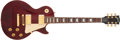 Musical Instruments:Electric Guitars, 1998 Gibson Les Paul Standard Wine Red Electric Guitar #90498301...