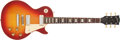 Musical Instruments:Electric Guitars, 1973 Gibson Les Paul Deluxe Cherry Sunburst #123564...