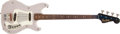 Musical Instruments:Bass Guitars, 1960s Hagstrom I Light Gray Electric Bass Guitar #6401194 ...
