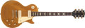 Musical Instruments:Electric Guitars, 1969 Gibson Les Paul Gold Top Electric Guitar #539382....