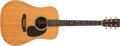 Musical Instruments:Acoustic Guitars, 1983 Martin D-28 Natural Acoustic Guitar #442319...