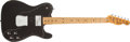 Musical Instruments:Electric Guitars, 1976 Fender Telecaster Custom Black Electric Guitar #76 11886...