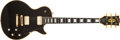 Musical Instruments:Electric Guitars, 1978 Gibson Les Paul Custom Black Electric Guitar, #71328519. ...