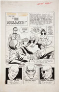 Original Comic Art:Splash Pages, Bill Montes and Ernie Bache Secret Agent #9 Sarge SteelSplash Page 1 Original Art (Charlton, 1966)....