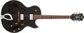 Musical Instruments:Electric Guitars, Circa 1997 Guild Starfire II Black Hollow Body Electric Guitar #AG300306....