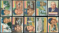 Baseball Cards:Sets, 1956 Topps Baseball Collection (34) - With Ted Williams! ...