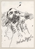 Post-War & Contemporary:Contemporary, MALCOLM MORLEY (British, b. 1931). Untitled, 1974. Graphiteon paper. 5-3/4 x 4 inches (14.6 x 10.2 cm). Signed and date...