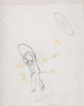 Post-War & Contemporary:Contemporary, FRANCIS ALŸS (Belgian, b. 1959). Allegorical Figure VII, 2001. Pencil on vellum collage. 13-1/2 x 10-3/4 inches (34.3 x ...