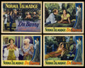 """Movie Posters:Romance, Du Barry, Woman of Passion (ArtCinema Associates, R-1937). Title Lobby Card and Lobby Cards (3) (11"""" X 14""""). Romance.. ... (Total: 4 Items)"""