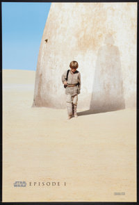 "Star Wars: Episode I - The Phantom Menace (20th Century Fox, 1999). One Sheet (27"" X 40"") DS Advance. Science..."