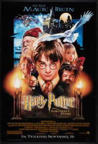 "Harry Potter and the Sorcerer's Stone (Warner Brothers, 2001). One Sheet (27"" X 41"") DS Advance. Fantasy"
