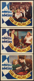 "Movie Posters:Mystery, Star of Midnight (RKO, 1935). Lobby Cards (3) (11"" X 14"").Mystery.. ... (Total: 3 Items)"