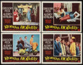 "Movie Posters:Romance, Roman Holiday (Paramount, 1953). Lobby Cards (4) (11"" X 14"").Romance.. ... (Total: 4 Items)"