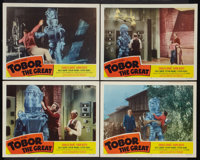 """Tobor the Great (Republic, 1954). Lobby Cards (4) (11"""" X 14""""). Science Fiction. ... (Total: 4 Items)"""
