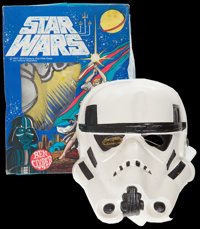 "Star Wars (20th Century Fox, 1977). Ben Cooper Storm Trooper Costume and Mask (Medium, Size 8-10, Fits Child 47"" to..."