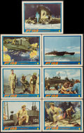 "Movie Posters:War, PT 109 (Warner Brothers, 1963). Lobby Cards (7) (11"" X 14""). War..... (Total: 7 Items)"