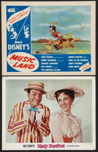 "Mary Poppins Lot (Buena Vista, 1964). Lobby Cards (10) (11"" X 14""). Fantasy. ... (Total: 10 Items)"