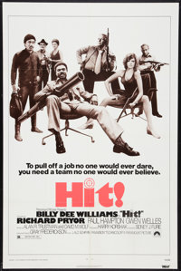 "Hit! Lot (Paramount, 1973). One Sheets (2) (27"" X 41""). Action. ... (Total: 2 Items)"
