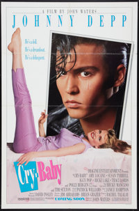 """Cry-Baby (Universal, 1990). One Sheet (27"""" X 41"""") Advance. Comedy"""