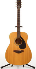 Musical Instruments:Acoustic Guitars, Circa 1972 Yamaha FG-180 Natural Acoustic Guitar #T0124312....
