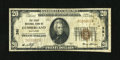 National Bank Notes:Maryland, Cumberland, MD - $20 1929 Ty. 1 The First NB Ch. # 381. The edgesare healthy for the grade of Fine....