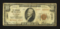 National Bank Notes:Alabama, Mobile, AL - $10 1929 Ty. 2 Merchants NB Ch. # 13097. ...
