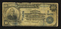 National Bank Notes:West Virginia, Wheeling, WV - $10 1902 Date Back Fr. 616 The NB of West VirginiaCh. # (S)1424. ...