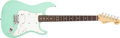 Musical Instruments:Electric Guitars, 2000 Fender Jeff Beck Stratocaster Seafoam Green Electric Guitar, #SZ0023415....