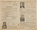 Miscellaneous:Broadside, Wild West: Butch Cassidy Reward Broadside. ...