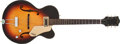 Musical Instruments:Electric Guitars, 1960 Gretsch 6186 Clipper Sunburst Archtop Electric Guitar#34624....