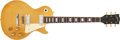 Musical Instruments:Electric Guitars, 1974 Gibson Les Paul Deluxe Gold Top Electric Guitar #899664. ...