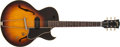 Musical Instruments:Electric Guitars, 1956 Gibson EPS-225T Sunburst Semi-Hollow Body Electric GuitV4034V4034. ...