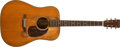 Musical Instruments:Acoustic Guitars, 1947 Martin D18 Natural Acoustic Guitar, #100183....